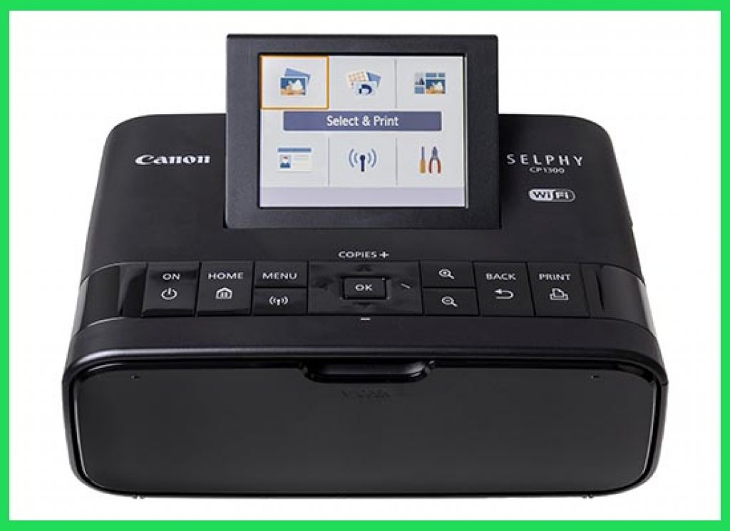Canon Selphy CP1300 Wireless Compact Photo Dye Sublimation Printer