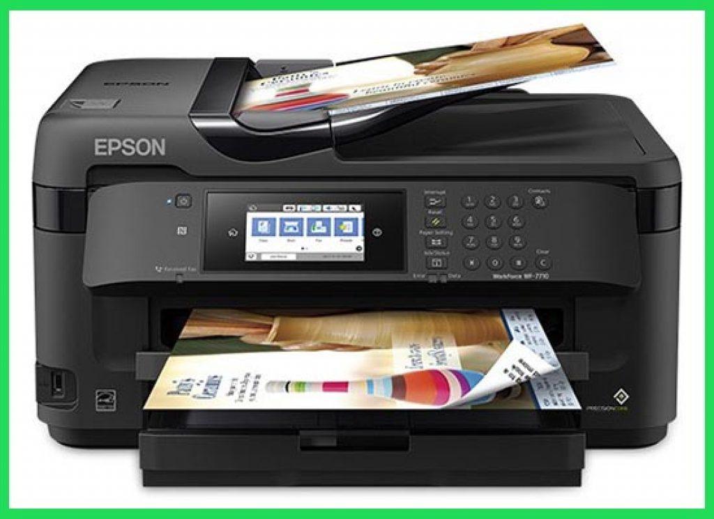 Epson WorkForce WF 7710 Printer for Sublimation