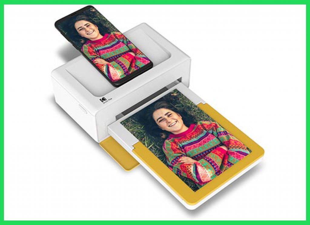 """Kodak Dock & Wi-Fi Portable 4x6"""" Instant Photo"""