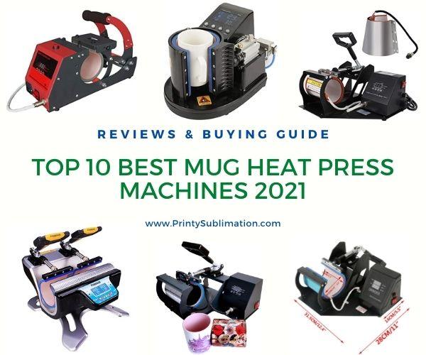Top 10 Mug Heat Press Machines