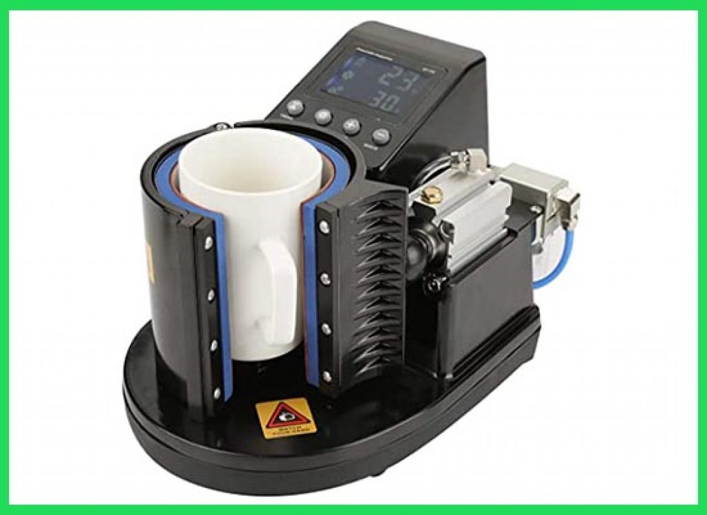 US Plug 110V Pneumatic Sublimation mug press