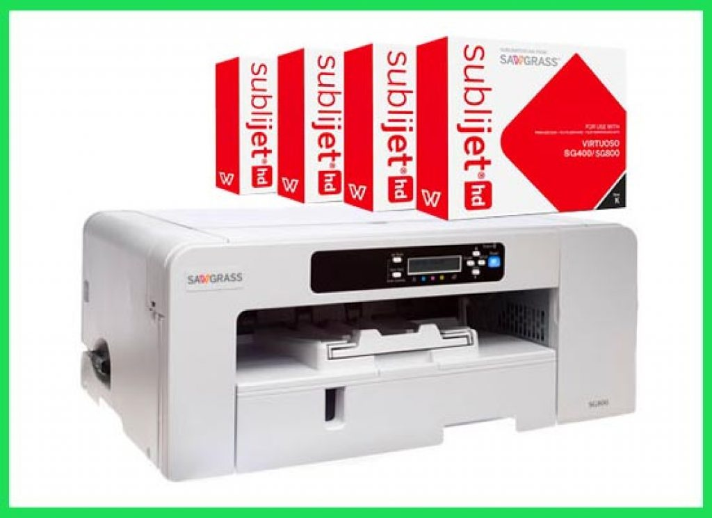 Sawgrass SG800 sublimation for t shirts printing.