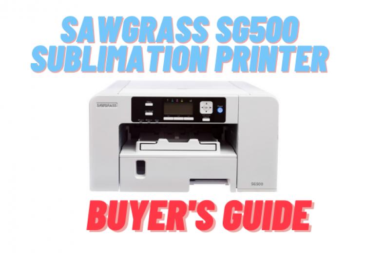 Sawgrass SG500 Sublimation Printer Review