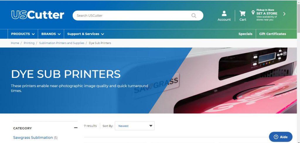 Buy Dye Sub Printers USCutter